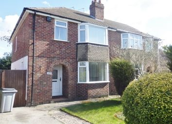 Thumbnail 3 bed semi-detached house to rent in Ridgemere Road, Heswall, Wirral