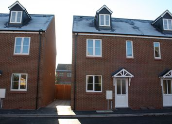 Thumbnail 4 bedroom end terrace house to rent in Dolphin Court, Canley, Coventry