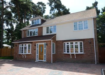 Thumbnail 4 bed detached house to rent in Nine Mile Ride, Finchampstead, Wokingham