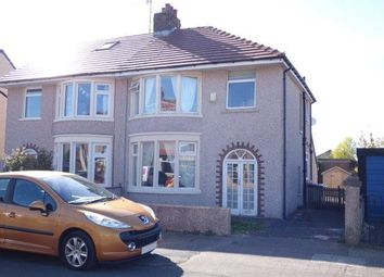 Thumbnail 3 bed semi-detached house for sale in Ruskin Drive, Morecambe
