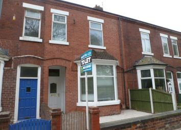 Thumbnail 4 bed terraced house to rent in Eastmoor Road, Wakefield