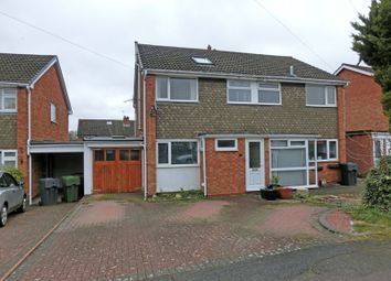 Thumbnail 4 bed semi-detached house for sale in Falstaff Avenue, Hollywood, Birmingham