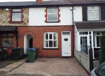 Thumbnail 3 bedroom terraced house to rent in St. Pauls Crescent, Wolverhampton