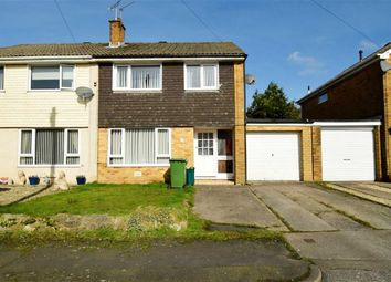 Thumbnail 3 bed semi-detached house for sale in Caldwell Close, Beddau, Pontypridd