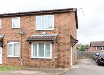 Thumbnail 2 bed semi-detached house for sale in Linnet Close, Wellingborough