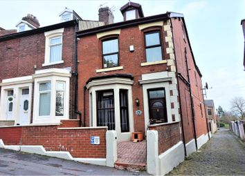 Thumbnail 4 bed end terrace house for sale in Palmer Road, Blackburn