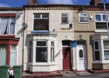 Thumbnail 3 bed terraced house for sale in Larch Road, Birkenhead, Merseyside