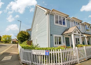 Thumbnail 2 bed end terrace house for sale in Crossfield Walk, Holborough Lakes, Kent