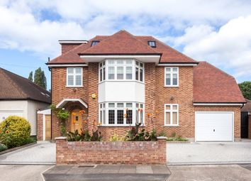 Thumbnail 6 bed detached house for sale in Branksome Way, New Malden