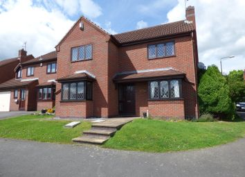 Thumbnail 3 bed detached house for sale in Springwood Drive, Oakwood, Derby
