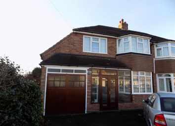 Thumbnail 4 bed semi-detached house for sale in Grosvenor Avenue, Streetly, Sutton Coldfield, .