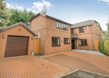 Thumbnail 4 bed detached house for sale in Woodfield Close, Marshfield, Cardiff