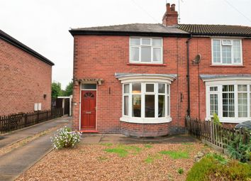 Thumbnail 2 bed semi-detached house for sale in Tennyson Avenue, Sprotbrough, Doncaster