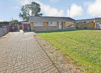 Thumbnail 3 bed detached bungalow for sale in Monksgate, Thetford, Norfolk