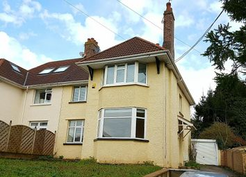 Thumbnail 3 bed semi-detached house to rent in Bassaleg Road, Newport
