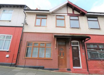 Thumbnail 3 bed terraced house to rent in Ormond Avenue, Blackpool, Lancahire