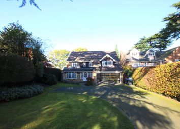 Thumbnail 4 bed detached house to rent in Pyrford Heath, Pyrford, Woking