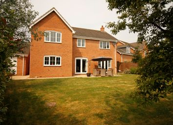 Thumbnail 4 bed detached house for sale in Arbroath Gardens, Orton Northgate, Peterborough