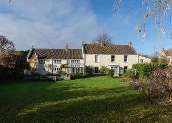Thumbnail 6 bed farmhouse for sale in Polsham, Wells