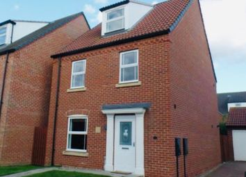Thumbnail 4 bed detached house for sale in Ploughmans Court, Lincoln