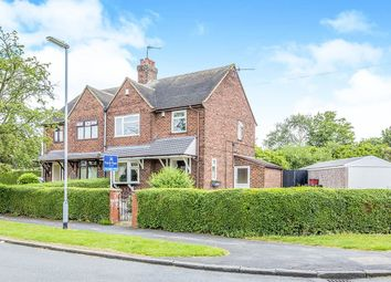 Thumbnail 3 bed semi-detached house for sale in Cauldon Avenue, Bradewell, Newcastle