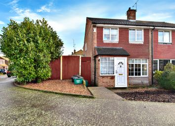Thumbnail 3 bed semi-detached house for sale in Stour Road, Crayford, Kent
