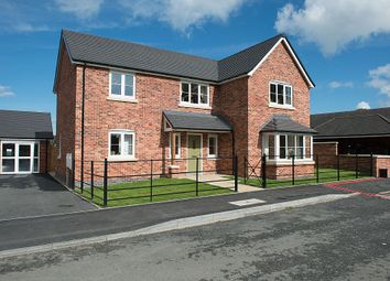 Thumbnail 4 bed detached house for sale in Prescott Court, Baschurch, Shrewsbury, Shropshire