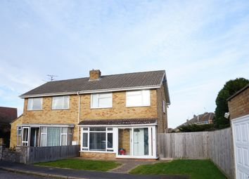 Thumbnail 3 bed semi-detached house to rent in John Herring Crescent, Swindon
