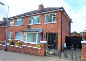 Thumbnail 3 bed semi-detached house for sale in Garnerville Gardens, Belfast