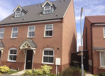 Thumbnail 3 bedroom semi-detached house to rent in Lark Close, Corby, Northamptonshire