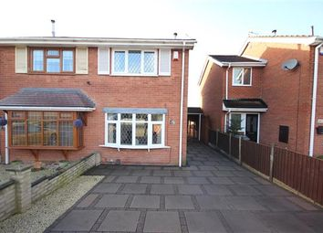 Thumbnail 2 bed semi-detached house for sale in Galsworthy Road, Saxonfields, Stoke-On-Trent