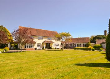 Thumbnail 5 bed detached house for sale in Hoe Lane, Flansham, Bognor Regis