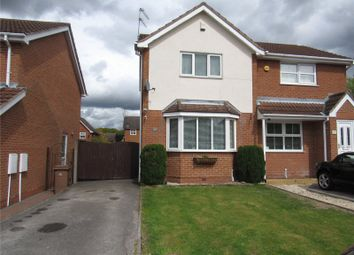 Thumbnail 2 bed semi-detached house for sale in Cawthorne Way, Mansfield, Nottinghamshire