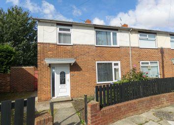 3 bed semi-detached house for sale in Hartford Crescent, Ashington NE63