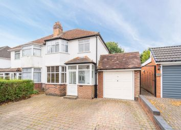 Stanway Road, Shirley, Solihull B90. 3 bed semi-detached house