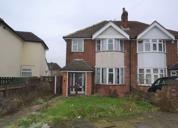 Thumbnail 3 bedroom semi-detached house for sale in Bristol Avenue, Leicester
