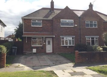 Thumbnail 3 bed semi-detached house for sale in Marple Crescent, Crewe, Cheshire, United Kingdom
