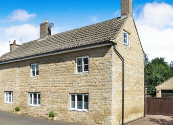 Thumbnail 4 bed detached house for sale in The Lane, West Deeping, Peterborough