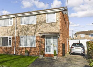 Thumbnail 3 bed semi-detached house for sale in Ganton Way, Willerby, East Riding Of Yorkshire
