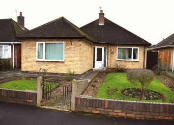 Thumbnail 2 bed bungalow for sale in Sandgate Avenue, Birstall, Leicester