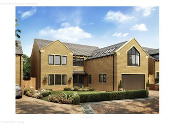 Thumbnail 4 bed detached house for sale in Stocksmead, Cross Lane, Stocksmoor