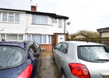 Thumbnail 2 bed maisonette to rent in Canterbury Avenue, Slough, Berkshire