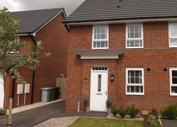 Thumbnail 3 bed semi-detached house for sale in Peter Fletcher Crescent, Sandbach