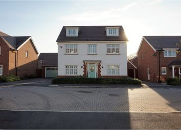 Thumbnail 5 bedroom detached house for sale in Long Wood Road, Stoke Gifford