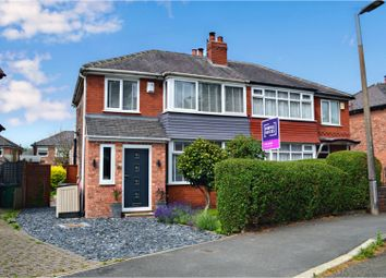 Thumbnail 3 bed semi-detached house for sale in Hastings Road, Prestwich