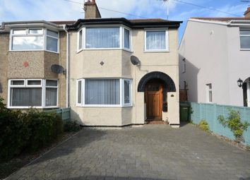 Thumbnail 3 bed semi-detached house for sale in Waveney Crescent, Lowestoft