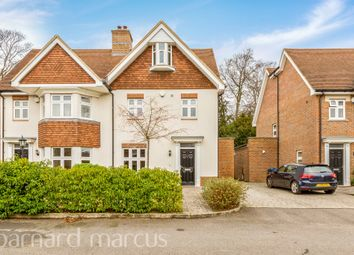 Thumbnail 4 bed semi-detached house for sale in Oscar Close, Purley