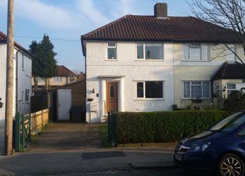 Thumbnail 2 bedroom semi-detached house for sale in Aldrich Crescent, Croydon, London