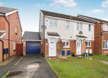 Thumbnail 2 bed semi-detached house for sale in The Wheate Close, Rhoose, Barry