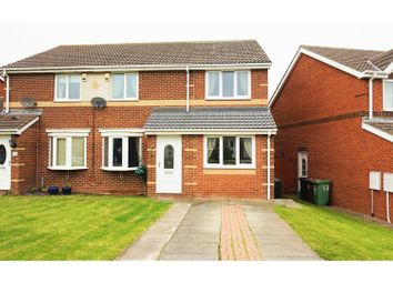 Thumbnail 3 bedroom semi-detached house for sale in Talland Close, Hartlepool